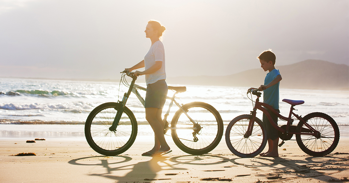 May is National Bike Month! Top 7 Benefits of Cycling.