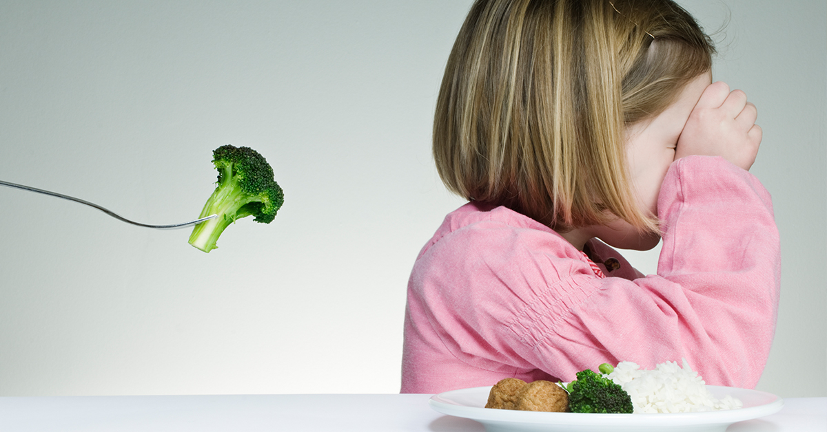 A Tip for Parents of Fussy Eaters with Older Siblings