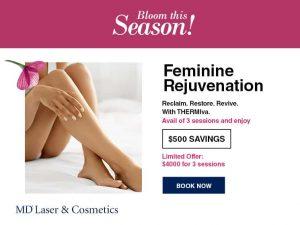 Feminine Rejuvenation sale $500 savings