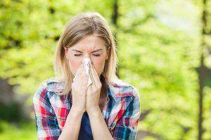 sneezing allergies