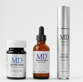 A solid solution to female hair loss exists with MD® Hair