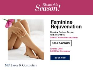 Feminine Rejuvenation sale $500 savings