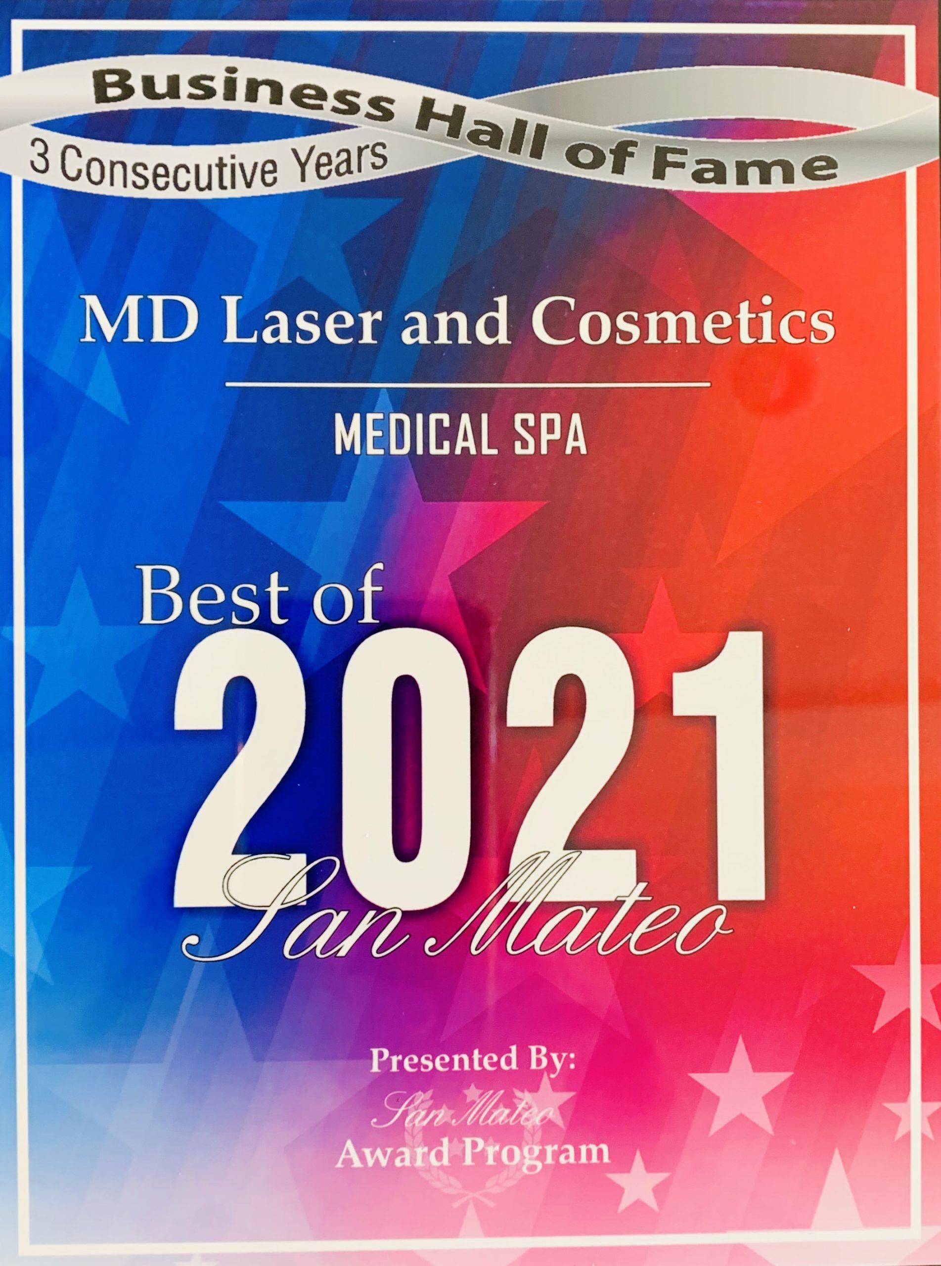 MD Laser 2021 Award
